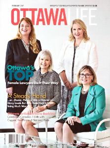 Front Cover Ottawa Life Magazine